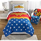 Wonder Woman Girls Twin/Full Comforter and Sham Set