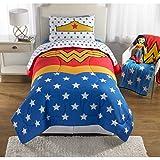 Wonder Woman Girls Twin/Full Comforter and Sham Set