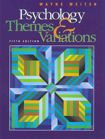 Psychology: Themes and Variations (Non-InfoTrac Version)