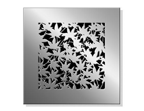 """Price comparison product image SABA Fiberglass Decorative Grille Vent Return Register Easy Air Flow Fall Theme Cover 14 Inch X 14 Inch (16"""" x 16"""" Overall). For Walls and Ceilings (not for Floor use)."""