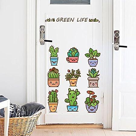 Weaeo Los Emoticonos Animados En Macetas Dormitorio Escaleras ...
