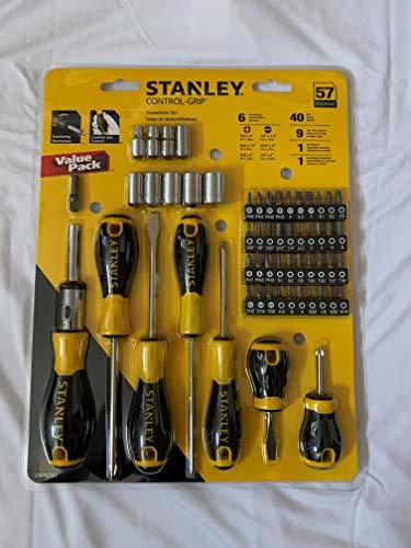 Stanley Screwdriver Set (57 Piece Control Grip Screwdriver Set) ()