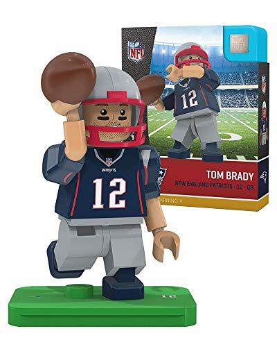 OYO NFL New England Patriots Gen4 Limited Edition Tom Brady Mini Figure, Small, White