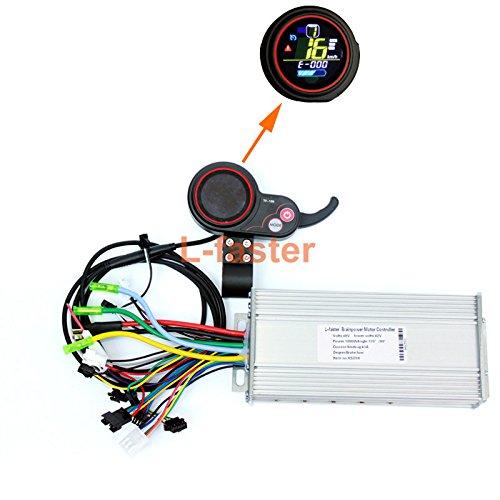 Elektro - roller lcd - display mit daumen - 400w-1000welectric bürstenlose motor gas hub controller mit farb - lcd akku.