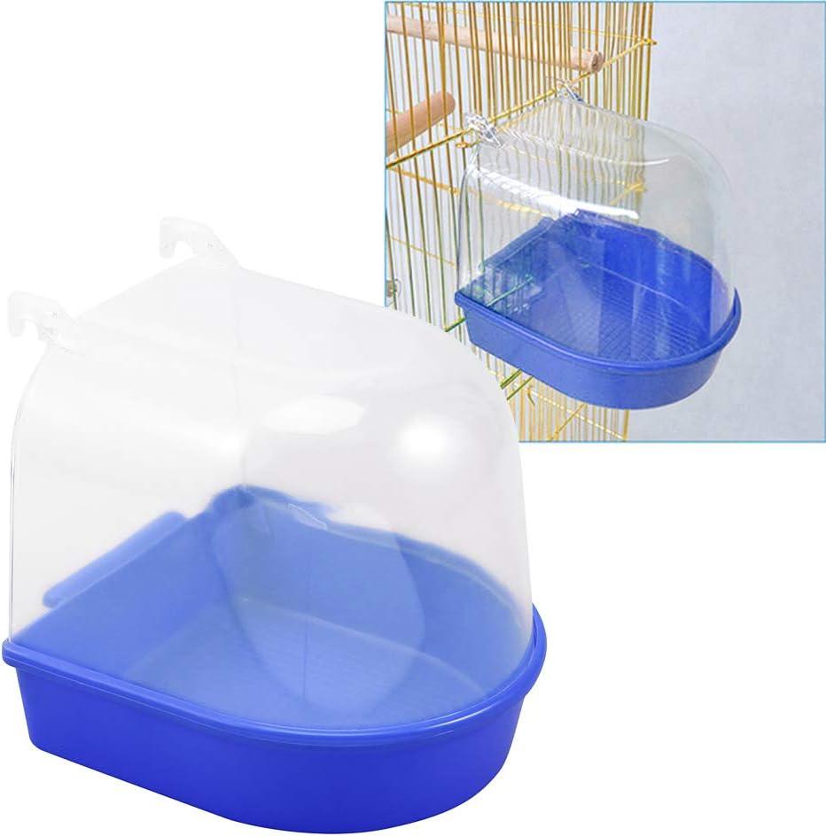 Balacoo Bird Bathtub Parrot Bath Shower Box Water Bowl Pet Cage Birdcage Accessories