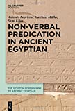 img - for Non-Verbal Predication in Ancient Egyptian (The Mouton Companions to Ancient Egyptian) book / textbook / text book