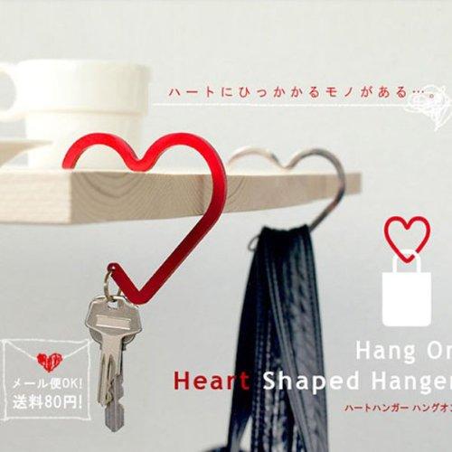2pcs/lot Heart Shaped Handbag Bag Hook Hanger Holder - Random Color