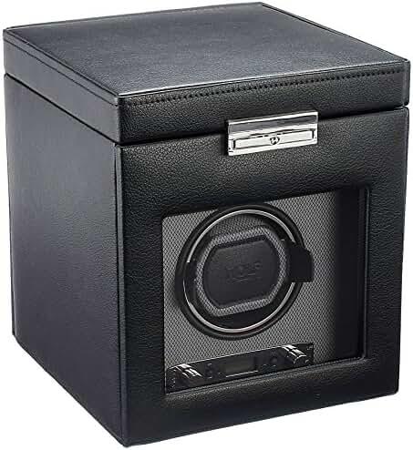 WOLF 456102 Viceroy Single Watch Winder with Storage