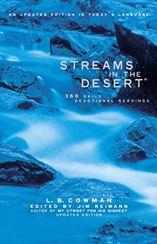 Streams in the Desert (Bible Verse For Encouragement In Times Of Stress)