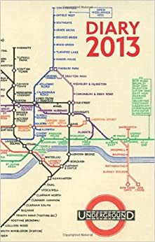 Book London Underground Poster Diary 2013