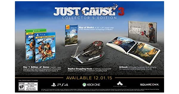 Just Cause 3 Collectors Edition - Xbox One by Square Enix: Amazon ...