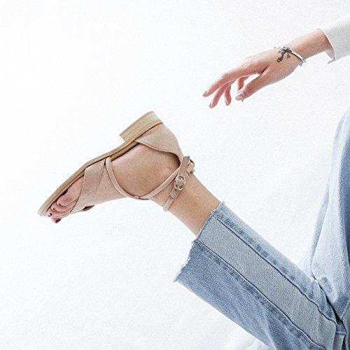YMFIE 35 37 estate sandali toe lady Nuova moda sandali UE semplice EU sandali rzwxfrq5P