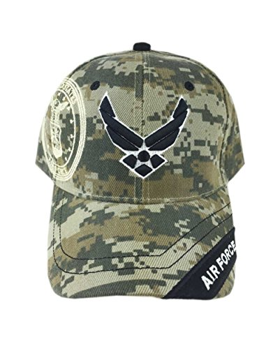 Aesthetinc U.S. Military Air Force Cap Officially Licensed Sealed (Camo 7)
