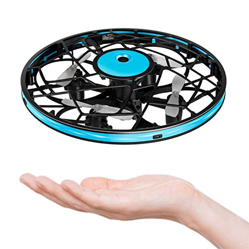 Hand Operated Drone for Kids Toddlers Adults – Mini LED Hand Drone for Kids Small UFO Flying Ball Drone Toys for Kids 6…