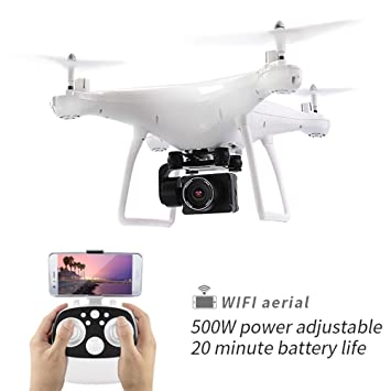 WANGKM FPV Drone, Cámara HD de 1080p, Video en Vivo, Regreso a ...