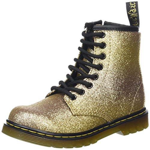 Dr. Martens Kid's Collection Girl's Delaney Glitter (Little Kid/Big Kid) Glitter (Doc Martens Kids Boots)