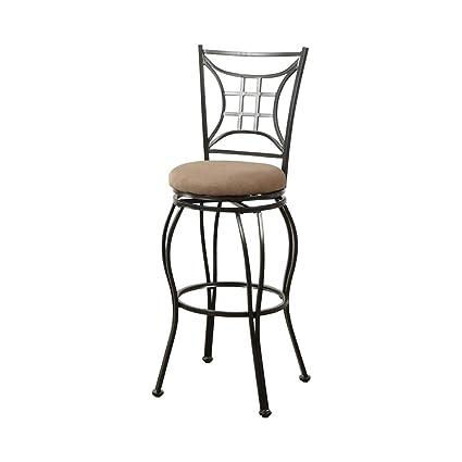 Excellent Amazon Com Benzara Bm171231 Intricate Metal Faux Suede Pabps2019 Chair Design Images Pabps2019Com