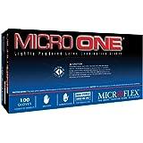 Microflex MO150XL Lightly Powdered Micro-One Latex Glove Size Extra Large, 100 Box