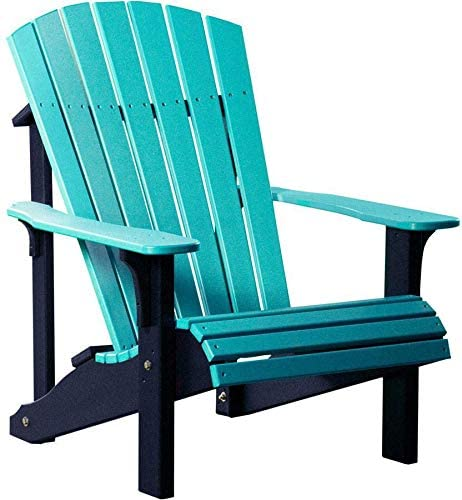 LuxCraft Recycled Plastic Deluxe Adirondack Chair – Lead Time to Ship 4 Weeks