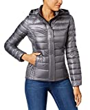 32 DEGREES Women Down Jacket w/Detachable Hood -Herringbone PRT-XS