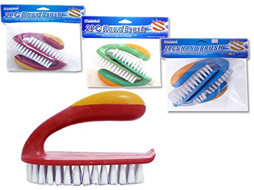 HAND BRUSH 2PCS/SET , Case of 96