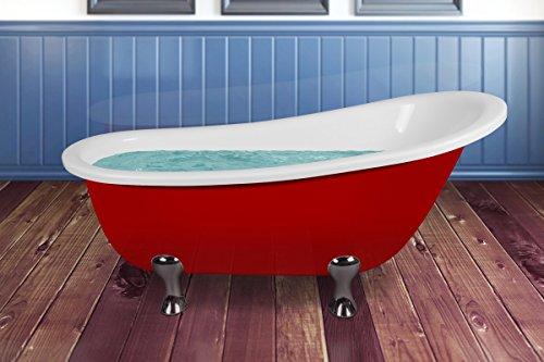 Akdy 64 inch soaking bathtub for Best soaker tub for the money