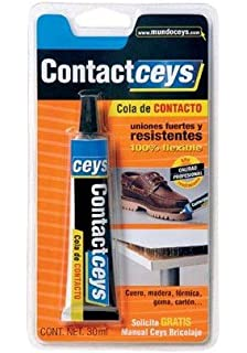 Ceys 503401 Adhesivo contactceys blister pequeño Azul 0