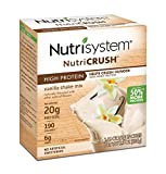 Nutrisystem NutriCRUSH Vanilla Shake Mix, 20 Count, Now with 50% More Protein