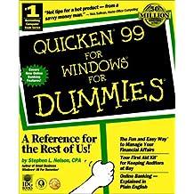 Quicken 99 For Windows For Dummies