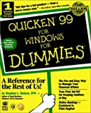 Quicken 99 for Dummies, Stephen L. Nelson, 0764504320