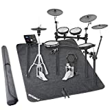 Roland TD-25KV V-Drums Electronic Drum Set w/Stand and Non-Slip Drum Floor Mat