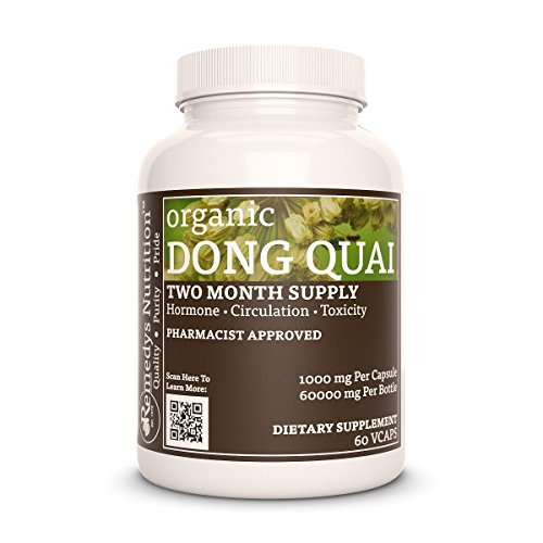 - Dong Quai Remedys Nutrition MEGA STRENGTH 1.000 mg / 50.000 mg per bottle Organic Vegan VCaps