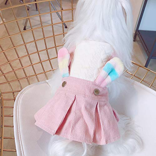 Kc home Cute Lovely Summer and Spring Weather Dresses for Small and Medium Puppy Dog