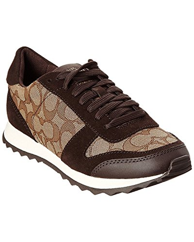 Up Mason C Top Khaki Chestnut Lace Womens Low Sig Sneakers Fashion Coach qtp05wS