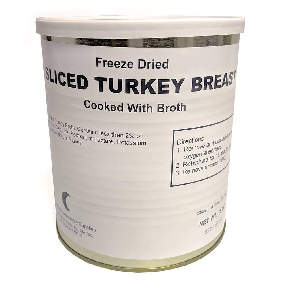 Freeze Dried Turkey Breast