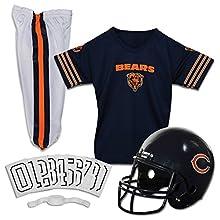 Franklin Sports NFL Chicago Bears Deluxe Youth Uniform Set, Medium