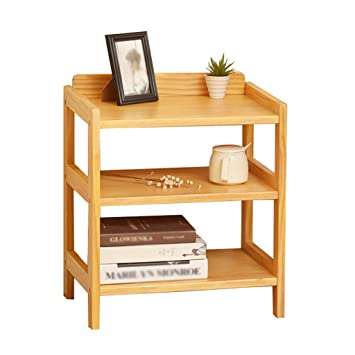 M-Y-S Table de chevet en bois massif, assemblage de meuble de ...