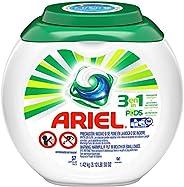 Ariel Pods Detergente Liquido Para Ropa En Cápsulas, 57 Piezas