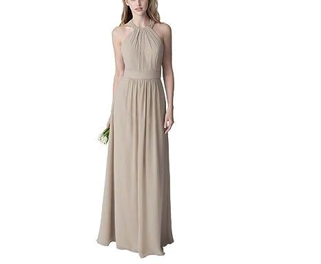 57861fdeb05 Les robes des femmes d été nouveau mince pendaison cou bustier en soie  taille haute