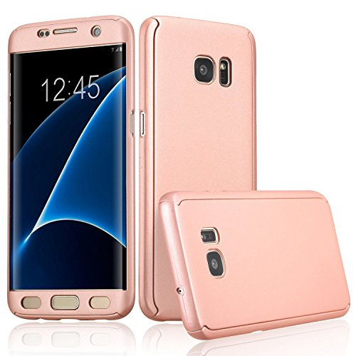 Back Case for Samsung Galaxy A5 2016 (Rose Gold) - 9