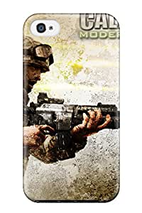 Julian B. Mathis's Shop New Style 2051697K25893618 Premium Case With Scratch-resistant/ Modern Warfare Case Cover For Iphone 4/4s