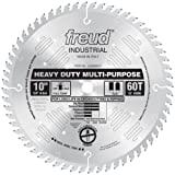 table saw blade sharpening - Freud LU82M010 10-Inch 60 Tooth TCG Crosscutting and Ripping Saw Blade with 5/8-Inch Arbor