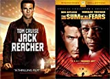 Saving America from Being Taken Over in Jack Reacher (Tom Cruise) & The Sum of All Fears (Ben Affleck) 2-DVD Bundle