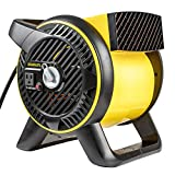 STANLEY ST-310A-120 Heavy-Duty Utility Blower 120 Volt Yellow, Black