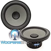 Focal ISN-5 Shallow 5.25 50 Watt RMS Mid Woofers