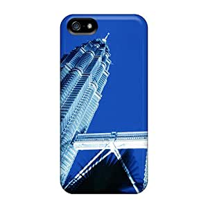New Arrival Cover Case With Nice Design For Iphone 5/5s- Petronas Towers Skyscrapers Kuala Lumpur