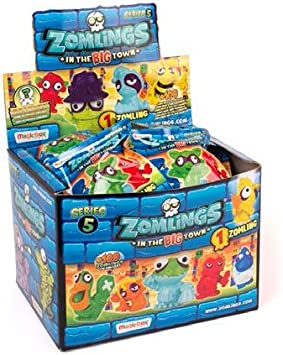 Magic Box Zomlings Serie 5 exhibidor de Paquete: Amazon.es: Juguetes y juegos