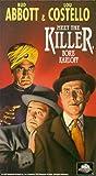 Abbott & Costello Meet the Killer [VHS]