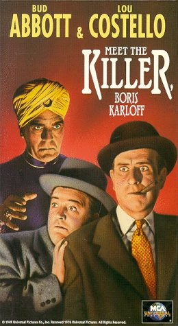 Abbott & Costello Meet the Killer [VHS] -