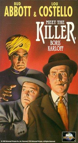 Abbott & Costello Meet the Killer [VHS] -